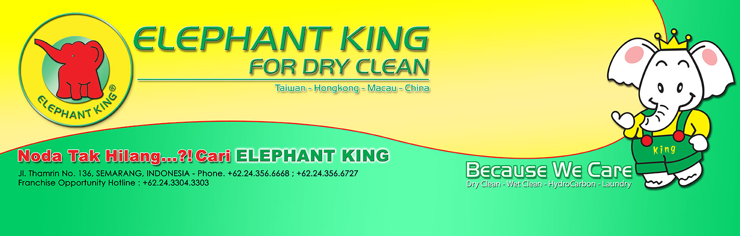 Elephant King for dry clean